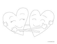 Images à colorier-Météo de mon cœur