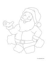 Images à colorier-Noël 2018