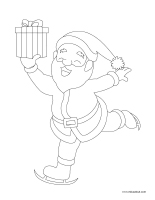 Images à colorier-Noël 2020