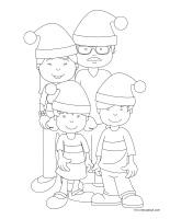 Images à colorier-Noël-Jeux libres