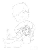 Coloriage La Ferme De Mathurin.Les Petits Fruits Activites Pour Enfants Educatout