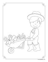 Images à colorier-Récoltes