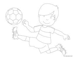 Images à colorier-Soccer