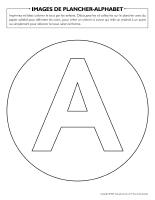 Images de plancher-Alphabet