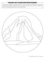Images de plancher-Montagnes