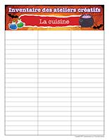 Inventaire-Halloween-Ateliers créatifs–La cuisine