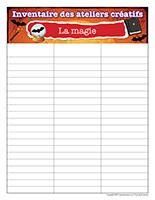 Inventaire-Halloween-Ateliers créatifs–La magie