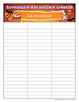 Inventaire-Halloween-Ateliers créatifs–La musique