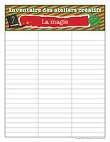 Inventaire-Noël-Ateliers créatifs-La magie