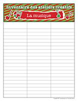 Inventaire-Noël-Ateliers créatifs-La musique