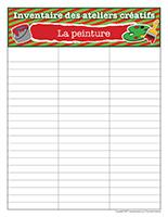 Inventaire-Noël-Ateliers créatifs-La peinture