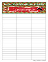 Inventaire-Noël-Ateliers créatifs-La photographie
