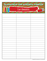 Inventaire-Noël-Ateliers créatifs-Le dessin