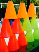 Inventer des jeux avec des cones miniatures-5