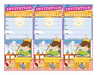 Invitations-Journée spéciale-maternelle