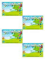 Invitations-La fête des jeux d'été