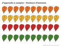 J'apprends à compter-Couleurs d'automne-2
