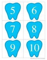 J'apprends à compter-La fée des dents-2