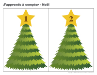 J'apprends à compter-Noël