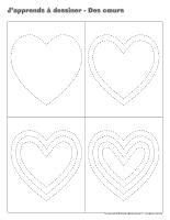 J'apprends à dessiner-Des cœurs-2