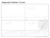 J'apprends à dessiner-La mer