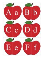 J'associe les lettres-Pommes