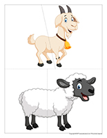 J'invente mon animal de la ferme