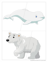 J'invente mon animal polaire