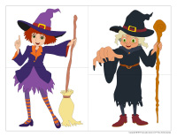 J'invente mon personnage d'Halloween