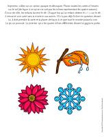 Jeu-Les quatre saisons