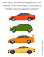 Jeu-Les quatre voitures
