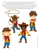 Jeu Quatre-Cowboys