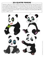 Jeu-Quatre-Pandas