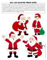 Jeu-Quatre-Pères Noël