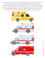 Jeu-Quatre ambulances