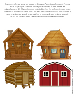 Jeu-Quatre cabanes