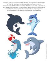 Jeu-Quatre dauphins