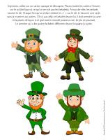 Jeu-Quatre farfadets de la Saint-Patrick