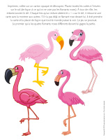 Jeu Quatre-flamants roses