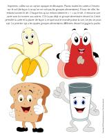 Jeu-Quatre groupes alimentaires