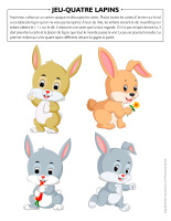 Jeu-Quatre lapins 2021