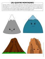 Jeu Quatre montagnes