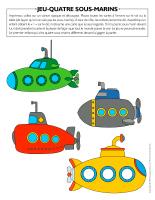 Jeu-Quatre-sous-marins