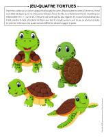 Jeu-Quatre tortues
