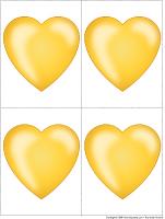 Jeu-coeur d'or