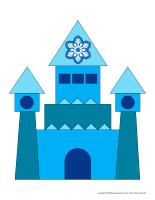 Jeu d'association-Mon château de neige
