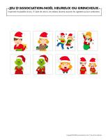 Jeu d'association-Noël-heureux ou grincheux-3