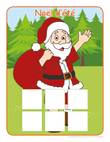 Jeu d'association-Noël ou camping-1