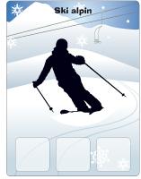 Jeu d'association olympiades d'hiver