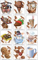 Jeu d'image - Chocolat